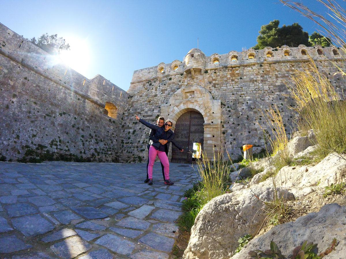 Visite de la forteresse de Réthymnon