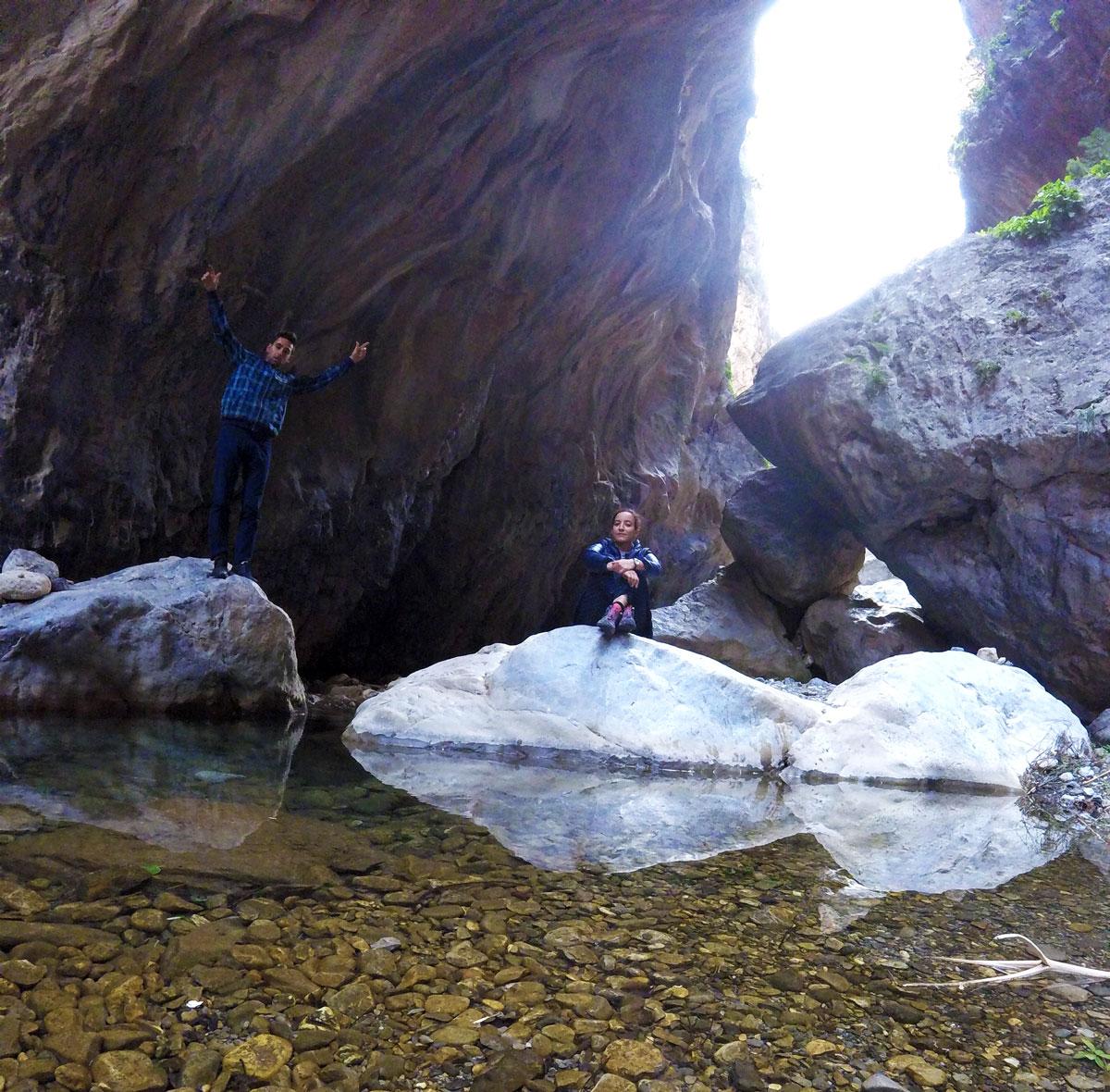 Gorges de Sarakinas