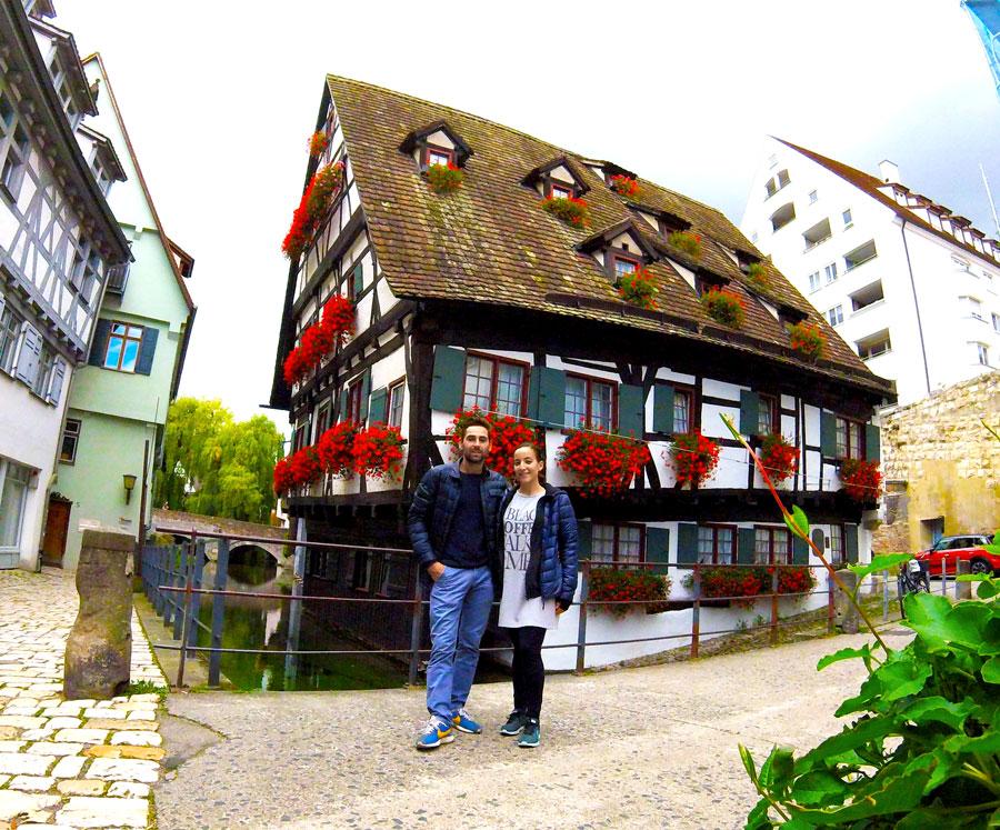 Arthur et Yasmina à Ulm, Allemagne