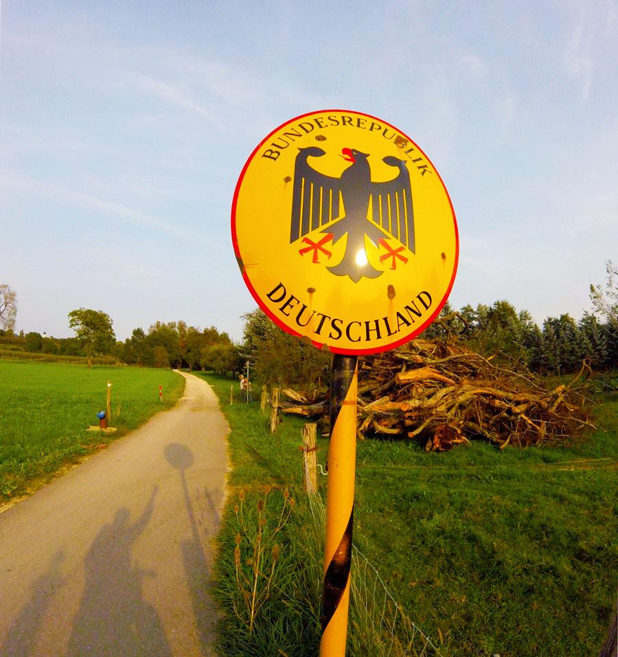 Panneau Allemagne