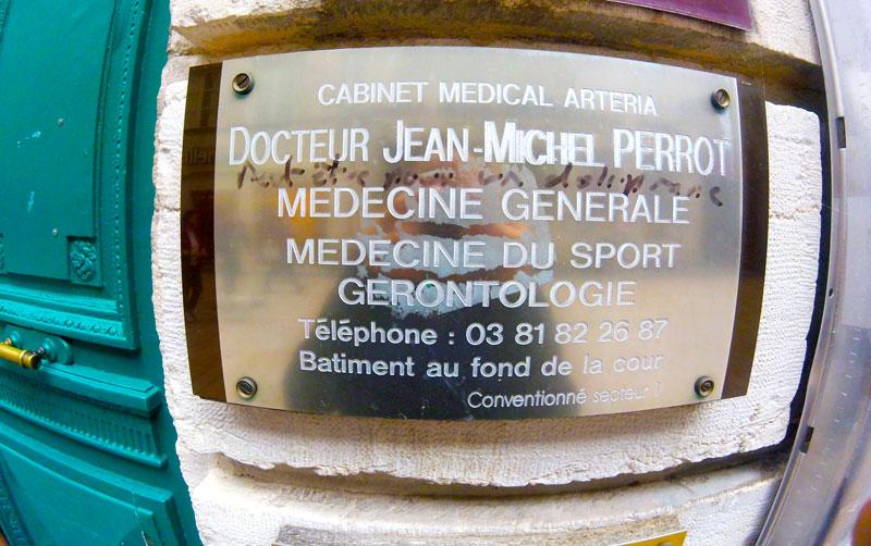 Médedcin à Besançon