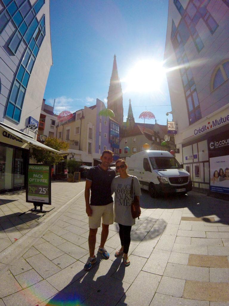 Yasmina et Arthur à Mulhouse