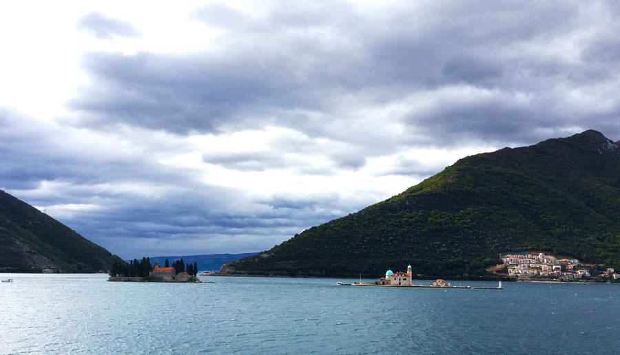 La baie de Kotor au Montenegro