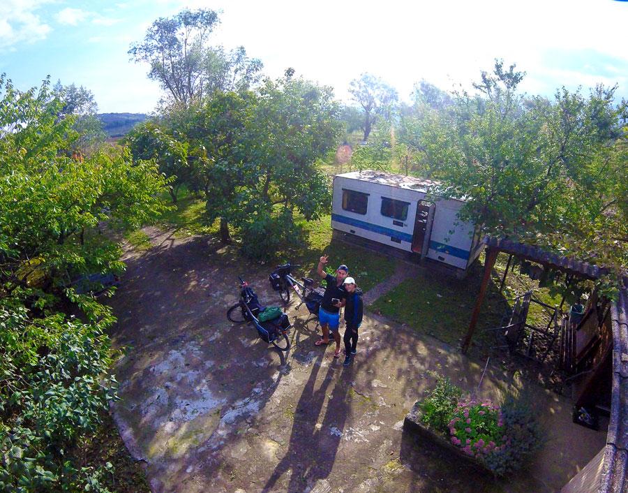 La caravane Couchsurfing à Koper