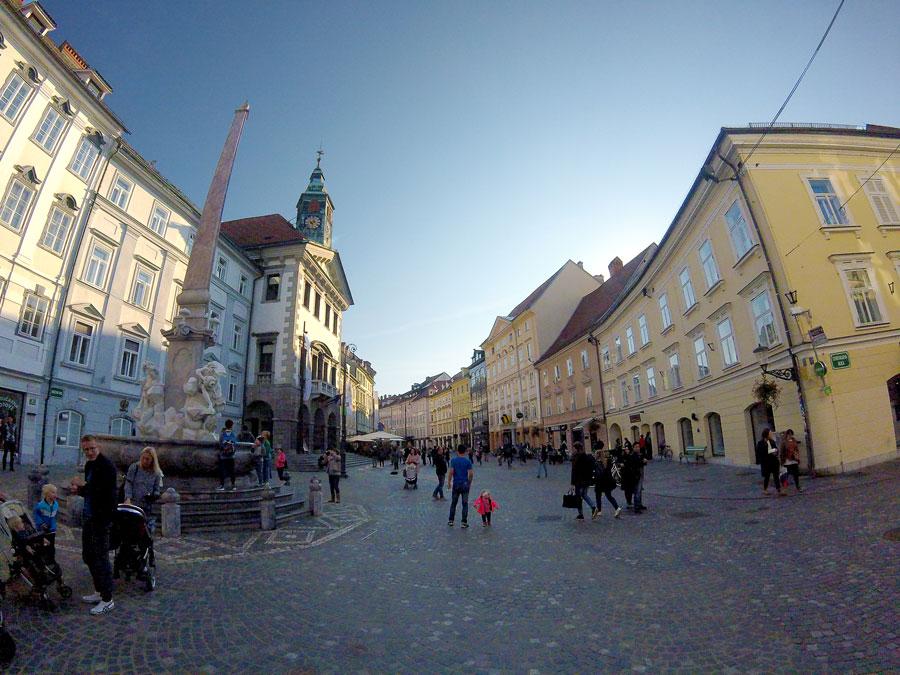 Ljubljana centre ville