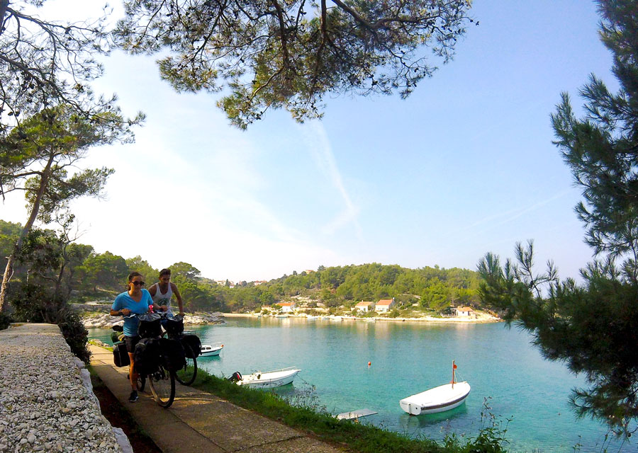 Along the coast in Mali Losinj
