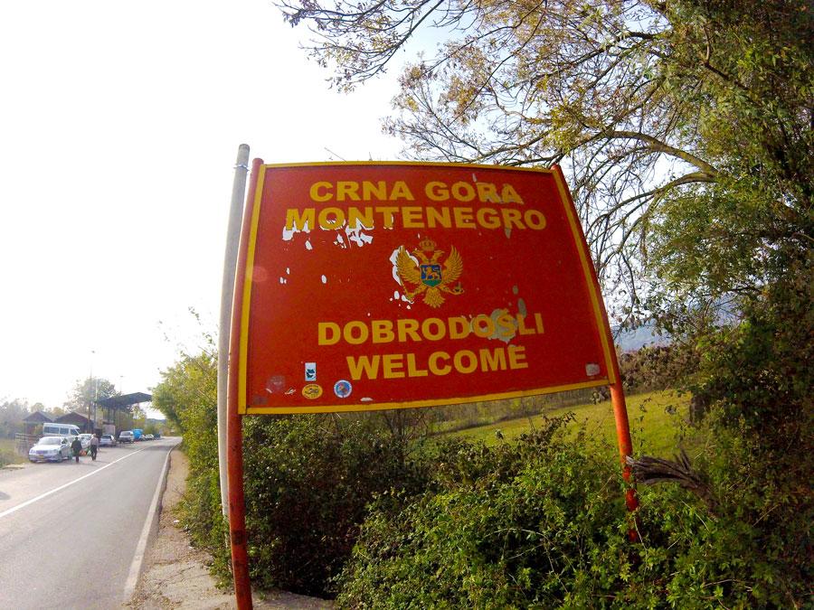 Montenegro welcome