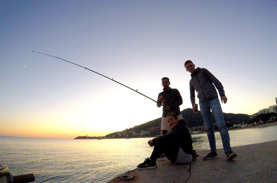 Pêche à Budva