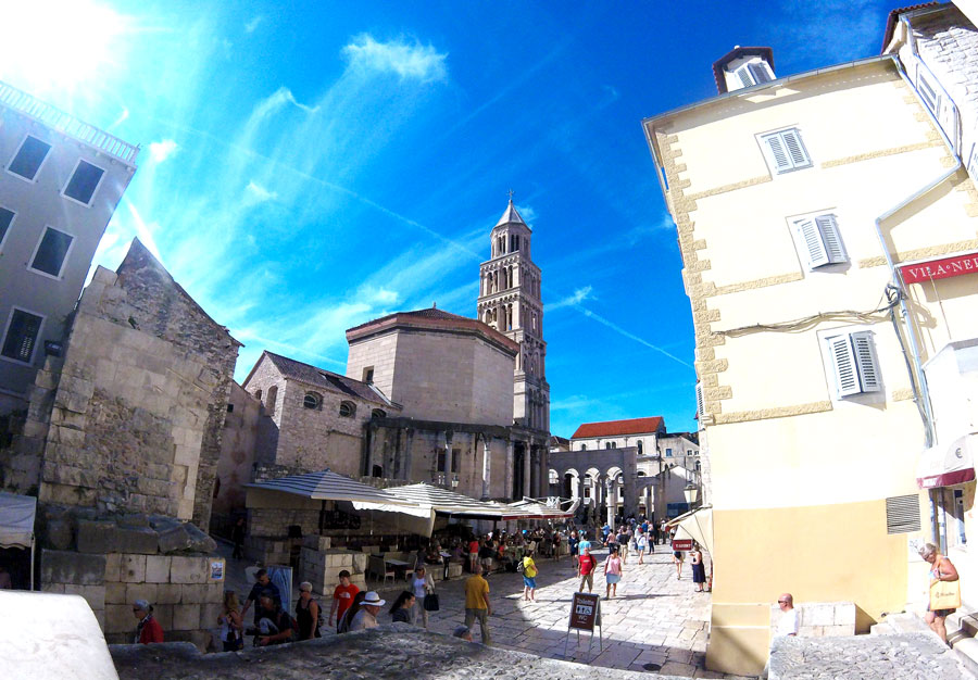 City center of Split