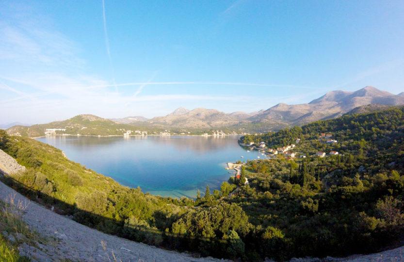 sud de la Croatie à vélo