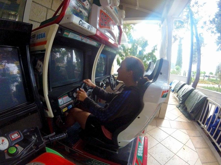 Jeux de voiture à Dubrovnik