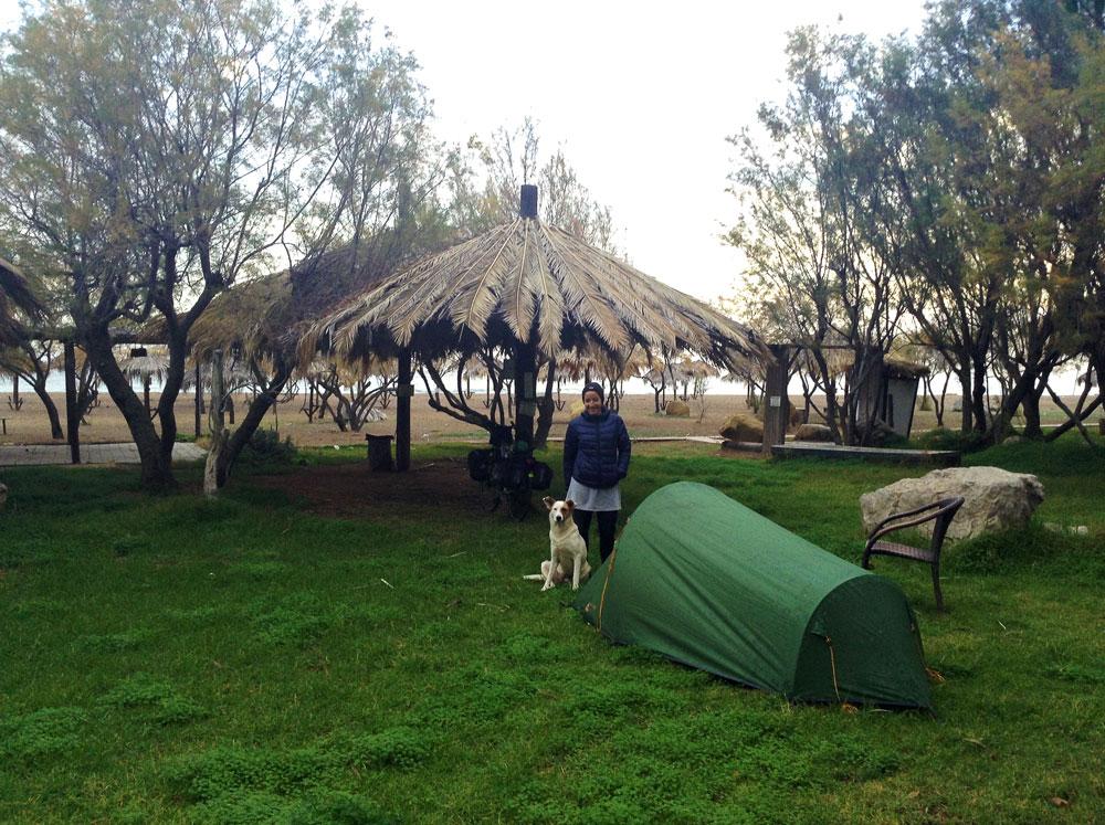 Camping Mayari à Kato Achaia en Grèce