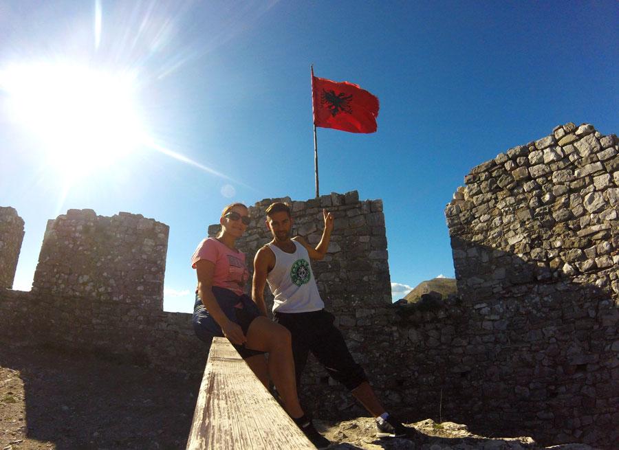 Visite du château de Rozafa, à Shkodër