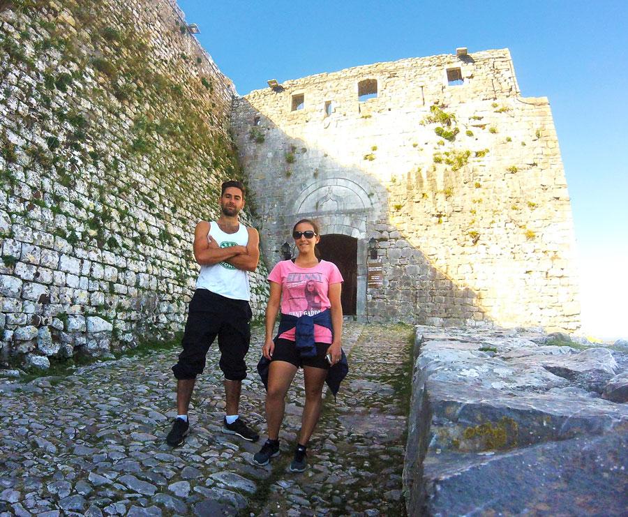 Entrée du château de Rozafa à Shkodër