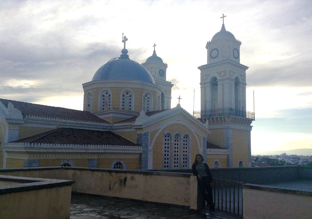 Eglise de Kalamata en Grèce