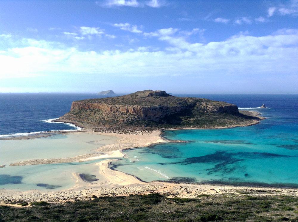 Balos bay, Crète