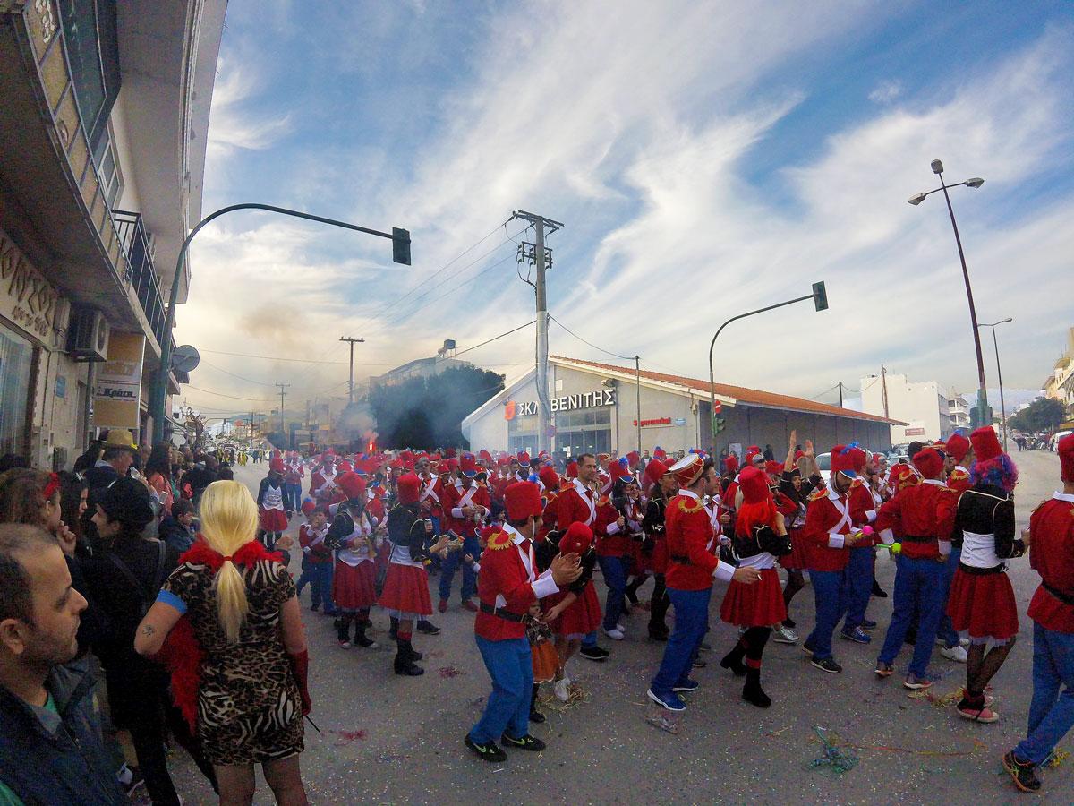 Carnaval de Iérapetra, févier 2018, Crète. Ierapetra carnaval, february 2018, Crete.
