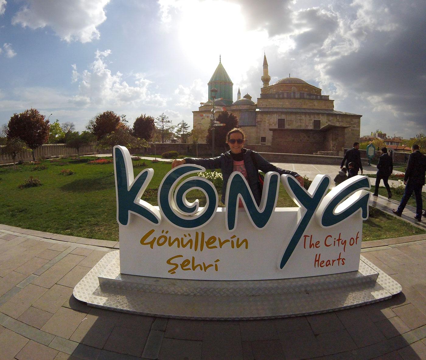 La Turquie à vélo, Konya. Cycling Turquey, Konya.