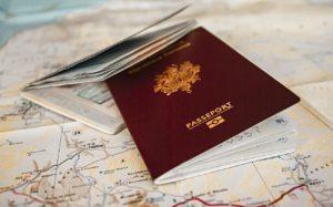 passeport demande de visas voyage à vélo