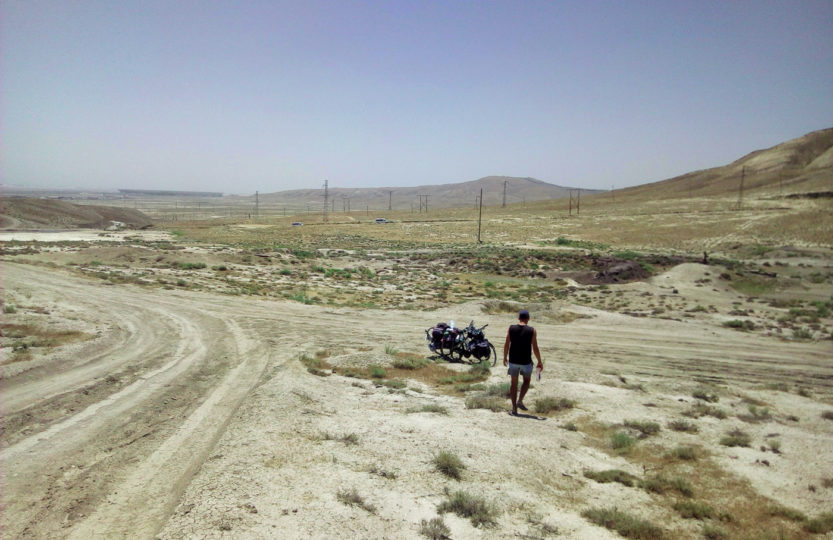 Cycling travel, biketouring, cycling Caucasus, cycling Azerbaijan and Georgia video.